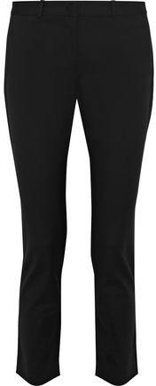 Joseph Eliston Cropped Cotton-Blend Slim-Leg Pants