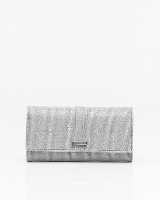 Le Château Metallic Wallet with Crossbody Strap