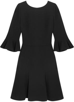 Dolce & Gabbana - Open-back Stretch-crepe Dress - Black $1,795 thestylecure.com