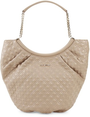 Love Moschino Quilted Saddle Tote