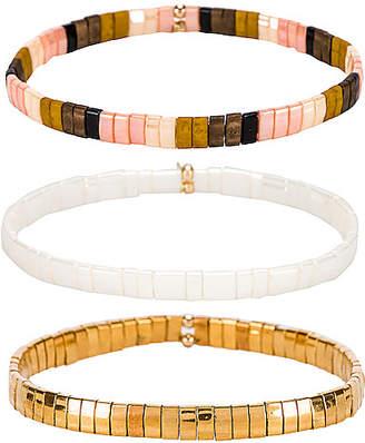 Shashi Tilu Set of 3 Bracelets