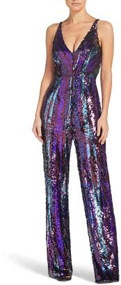 Dress the Population Charlie Sequin Jumpsuit