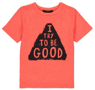 George Slogan T-shirt