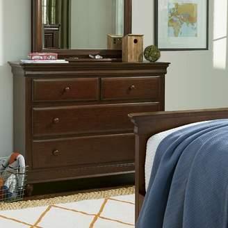 Harriet Bee Chassidy 4 Drawer Cherry Dresser Harriet Bee