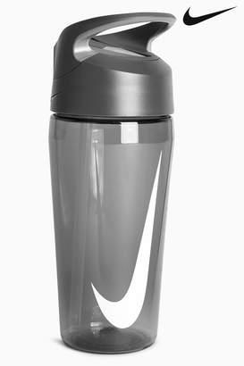 Nike Boys Black Hypercharge 16oz Straw Water Bottle - Black