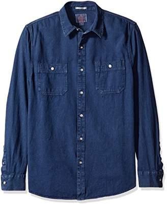 Lucky Brand Men's Denim Western Shirt