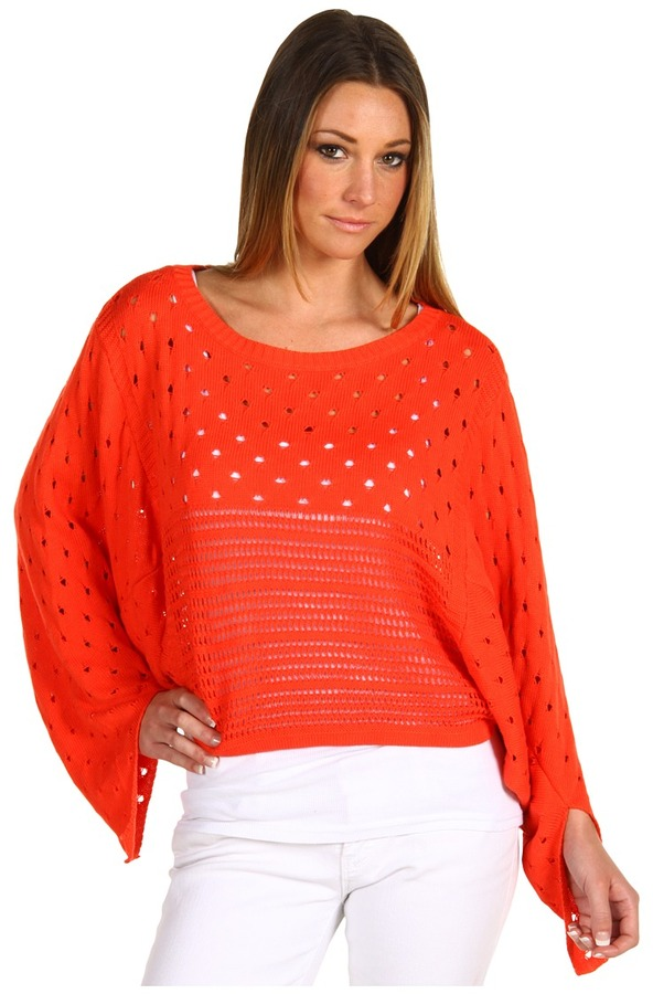 Patterson J. Kincaid Lawrence Pullover Sweater (Poppy Red) - Apparel