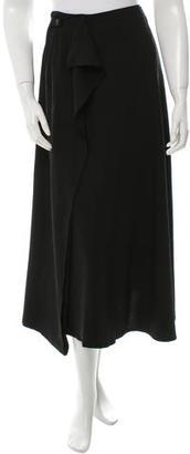 Yohji Yamamoto Wool Midi Skirt w/ Tags $125 thestylecure.com