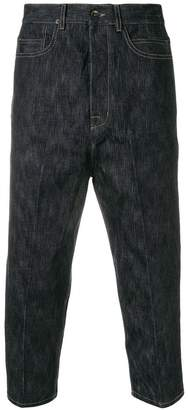 Rick Owens drop-crotch jeans
