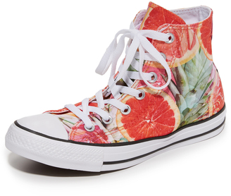 Converse Chuck Taylor All Star Fruit Slices Sneakers $60 thestylecure.com