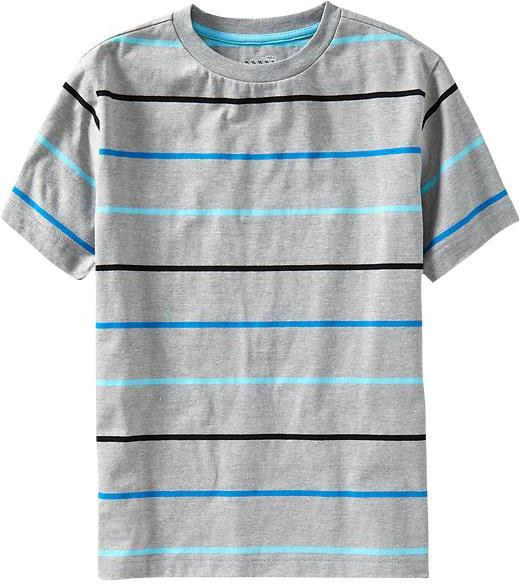 Old Navy Boys Striped Tees