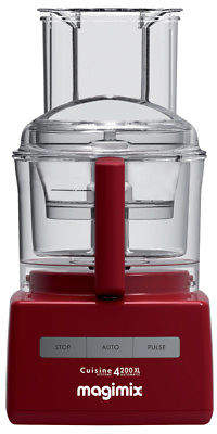 Magimix NEW 4200XL Red Food Processor