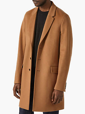 Jigsaw Wool Cashmere Epsom Jacket, Camel