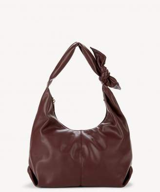 Sole Society Niki Vegan Hobo w/ Bow Detail