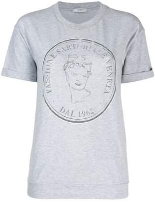 Peserico logo print T-shirt