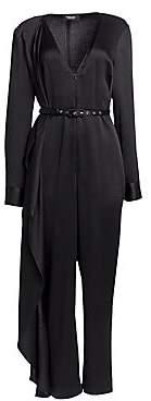 Rachel Comey Women's Hammered Satin Satin Self-Tie Jumpsuit
