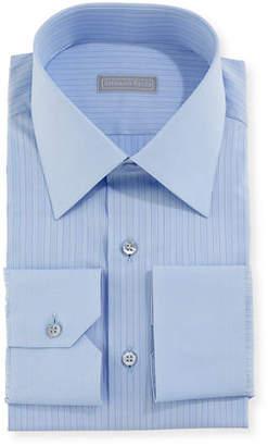 Stefano Ricci Contrast-Striped Dress Shirt
