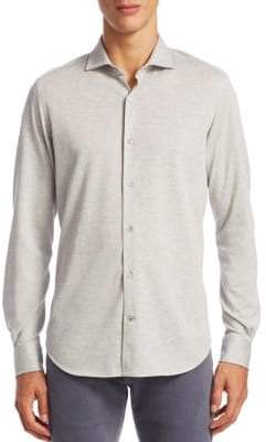 Loro Piana Cotton Casual Button-Down Shirt