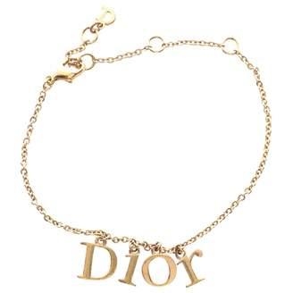 Christian Dior Gold Metal Bracelet