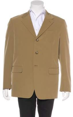 Prada Stretch Single Vent Blazer