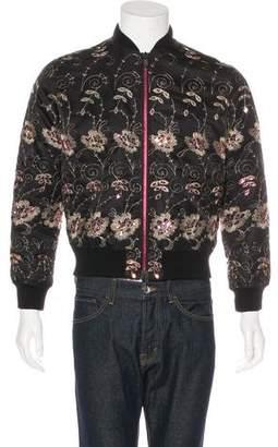 Givenchy Sequin-Embellished Bomber Jacket