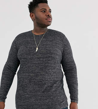 ONLY & SONS crew neck sweater in gray