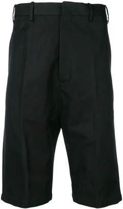 Neil Barrett dropped crotch shorts