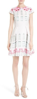 Women's Ted Baker London Deonny Skater Dress $335 thestylecure.com