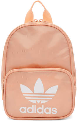 adidas Pink Mini Santiago Backpack eaa2cf184335a
