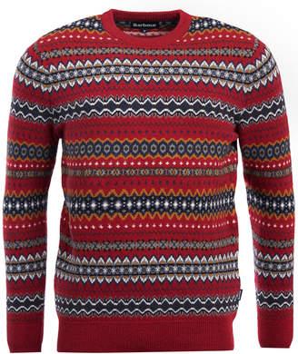 Barbour Men Case Fairisle Sweater