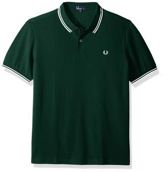 Fred Perry Men's Slim-Fit Twin-Tipped Polo Shirt