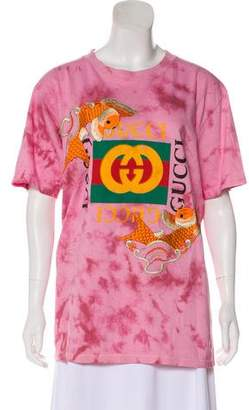 Gucci 2017 Embroidered T-Shirt