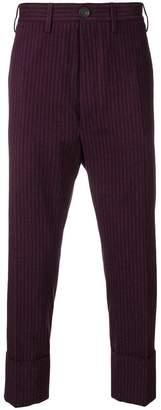 Vivienne Westwood pinstripe formal trousers