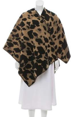 Burberry Wool & Cashmere Blend Shawl