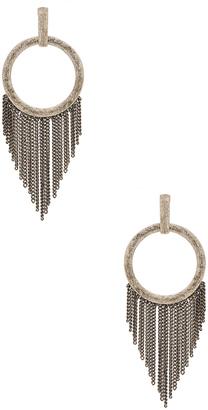 Ettika Fringe O Earring $45 thestylecure.com