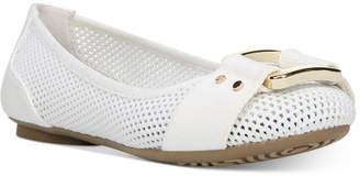Dr. Scholl's Dr. Scholl Frankie Mesh Buckle Flats Women Shoes
