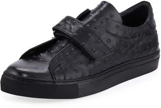 Jared Lang Men's Laceless Strap Sneakers