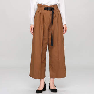 Kenzo (ケンゾー) - ケンゾー CROPPED LARGE BELTED PANTS