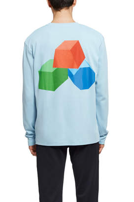 Acne Studios Building Blocks Long-Sleeve T-Shirt
