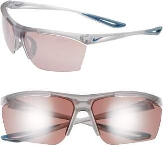 Nike Tailwind 65mm Oversize Wrap Sport Sunglasses