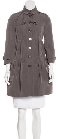 Burberry  Burberry London Short Button-Up Coat