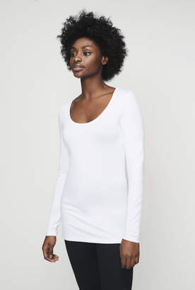 Long Tall Sally The Long Sleeve Cotton Stretch Tee