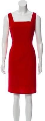 Ralph Lauren Wool Sheath Dress Red Wool Sheath Dress