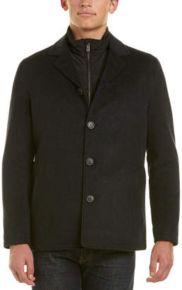 Hart Schaffner Marx Triple Play Wool-Blend Coat