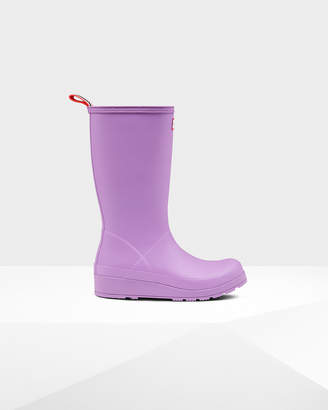 Hunter play tall wellington boots