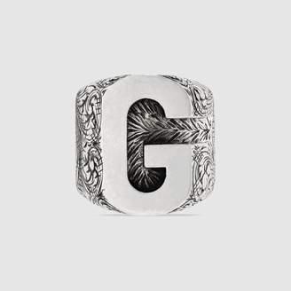 "Gucci (グッチ) - アルファベット ""G"" シルバー リング"