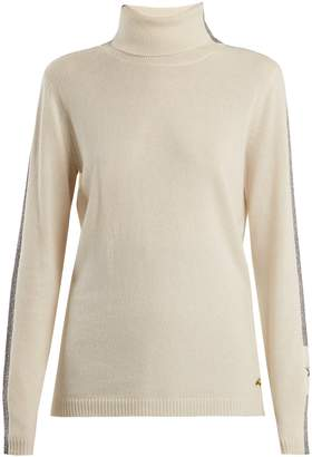 Bella Freud Britt roll-neck cashmere-blend sweater