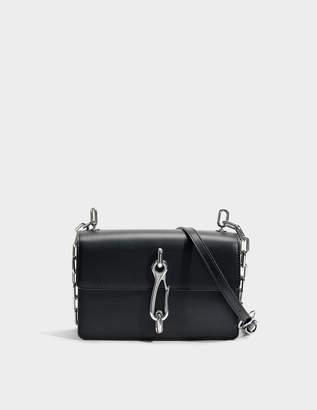 d607814744ca Alexander Wang Hook Medium Crossbody Bag in Black Calfskin