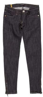 Plein Sud Jeans Low-Rise Skinny Jeans w/ Tags