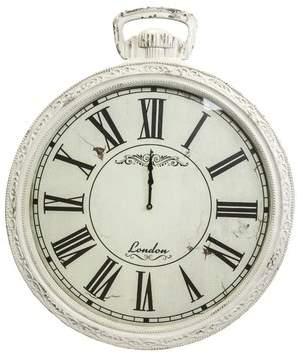 One Allium Way Oversized Emilion Vintage 28.37 Wall Clock